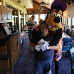 Then Goofy wanted a hug
