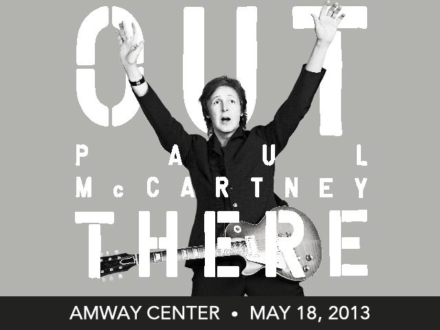 "Paul McCartney ""Out There"" Tour coming to Orlando's Amway Center"