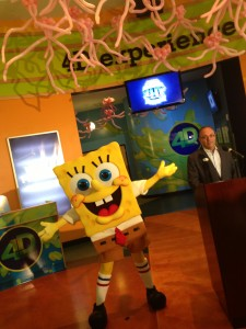 Nick Hotel SpongeBob Squarepants