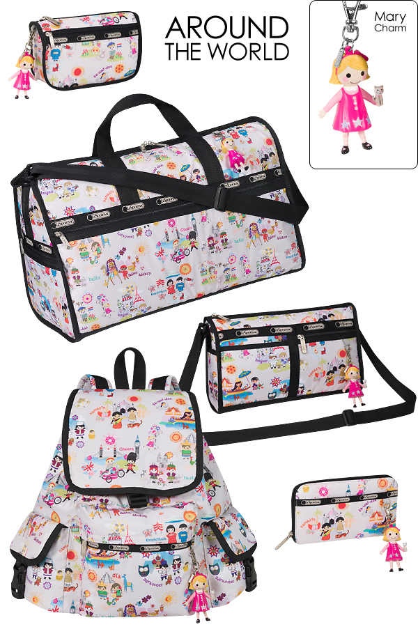 56d971daaae LeSportsac Around the World Bags - On the Go in MCO
