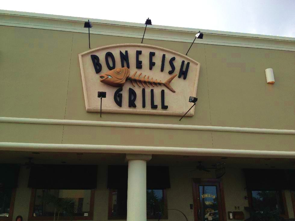 Bonefish grill review on the go in mco for Fish grill near me
