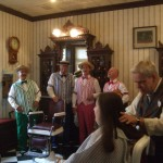 Dapper Dans in Harmony Barber Shop