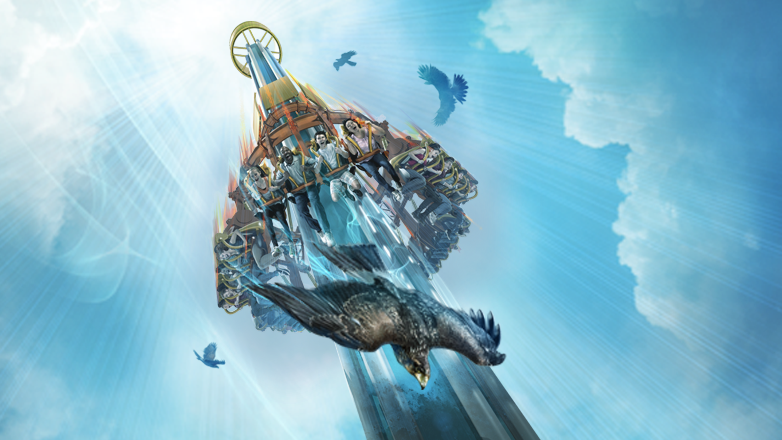 Falcon's Fury set to drop at Busch Gardens in Spring 2014