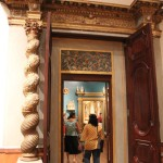 Doorway into second salon