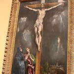 El Greco's The Crucifixion with Mary and Saint John