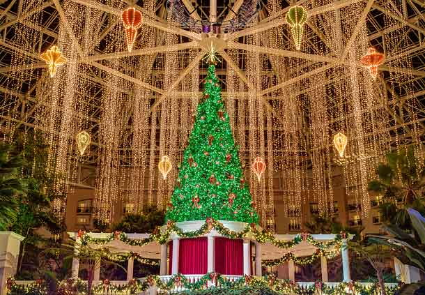 Gaylord Palms Christmas Tree
