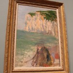 Marcel Duchamp's Sur la Falaise (On the Cliffs)