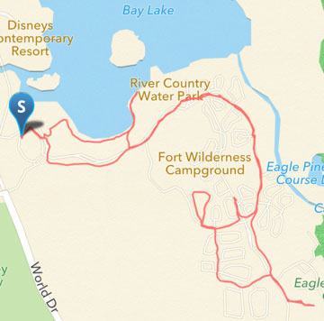 WildernessMap Biking