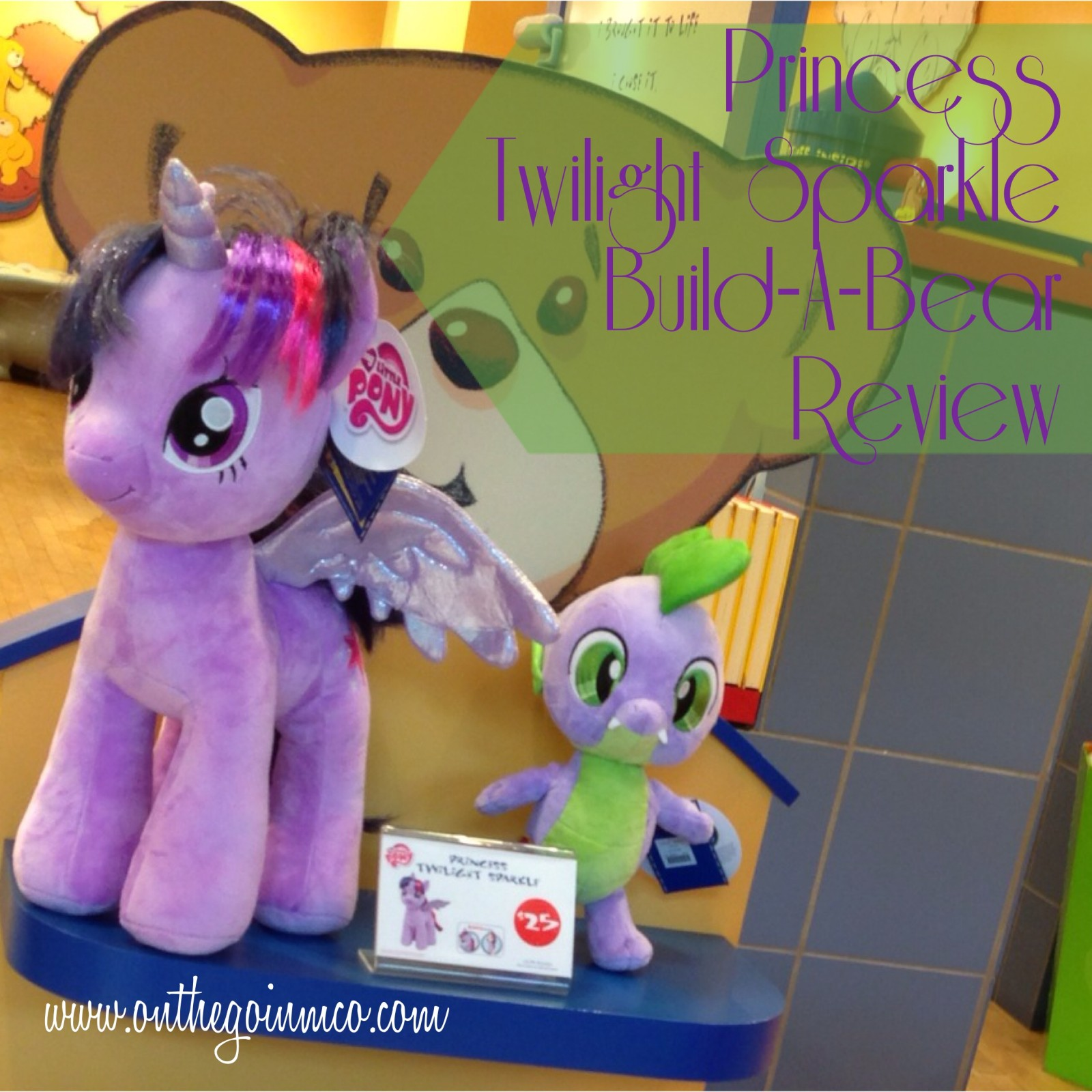Build-A-Bear Workshop Twilight Sparkle Review