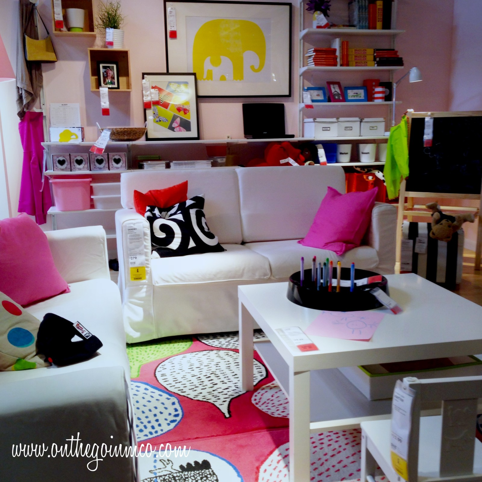 IKEA Orlando Young Child and Smaller Space Showroom Scenario