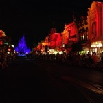 Main Street waiting for the Boo To You parade