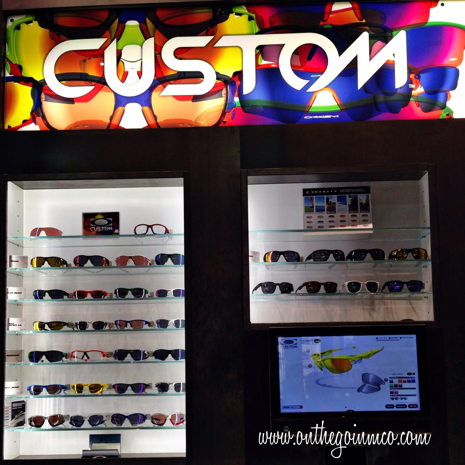 Oakley Custom Sunglasses Area