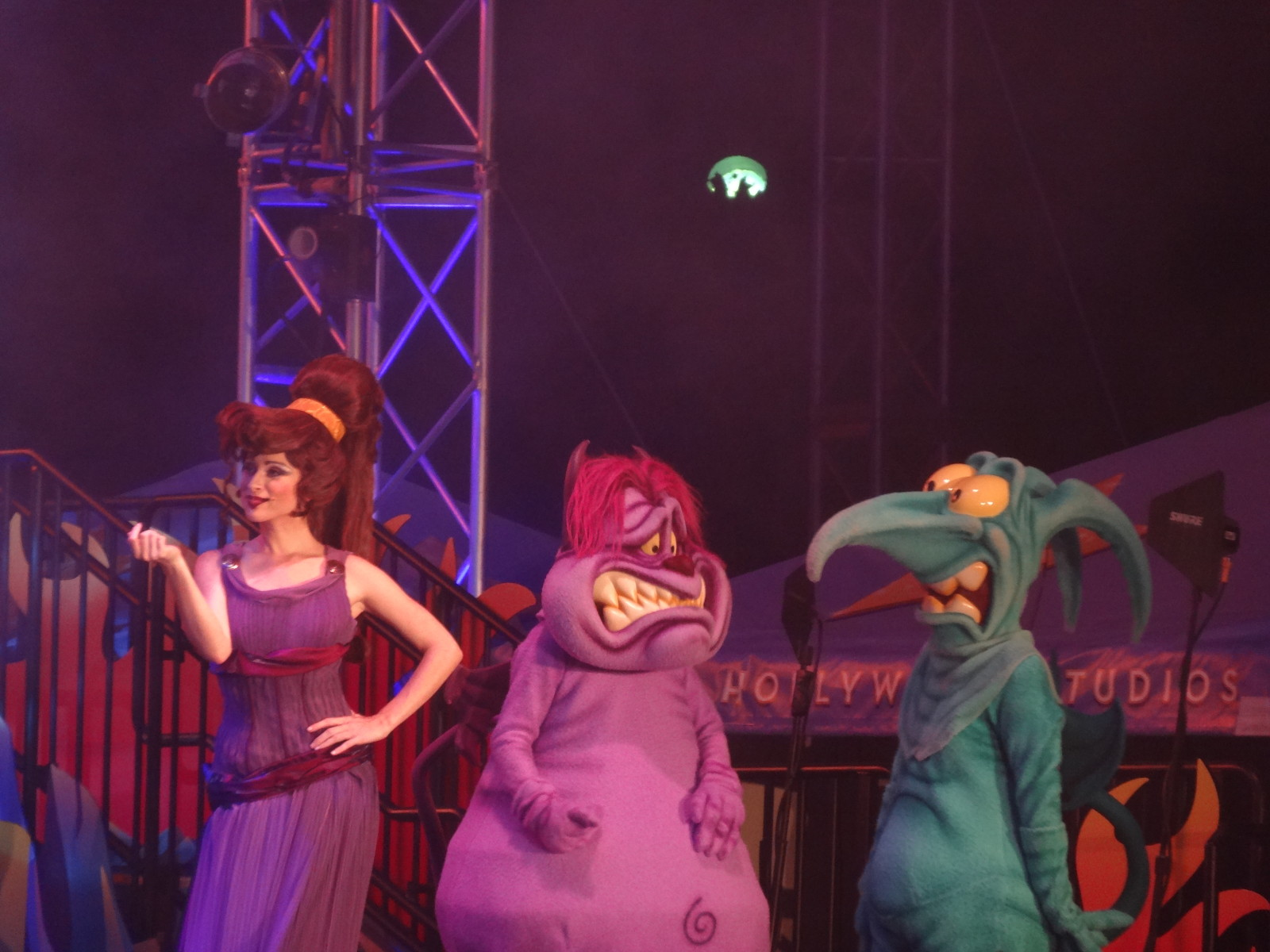 Unleash The Villains Megara, Pain, and Panic