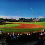 panorama of McKechnie Field
