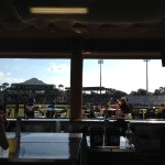 view of the field from the Kona bar