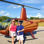 Before our helicopter ride