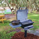 Glamping grill