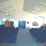 Inside of Congregation Shalom Aleicheim Synagogue