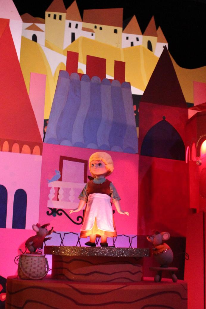 It's A Small World Characters at Disneyland