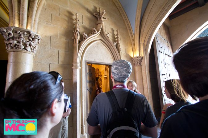 cinderella castle suite door