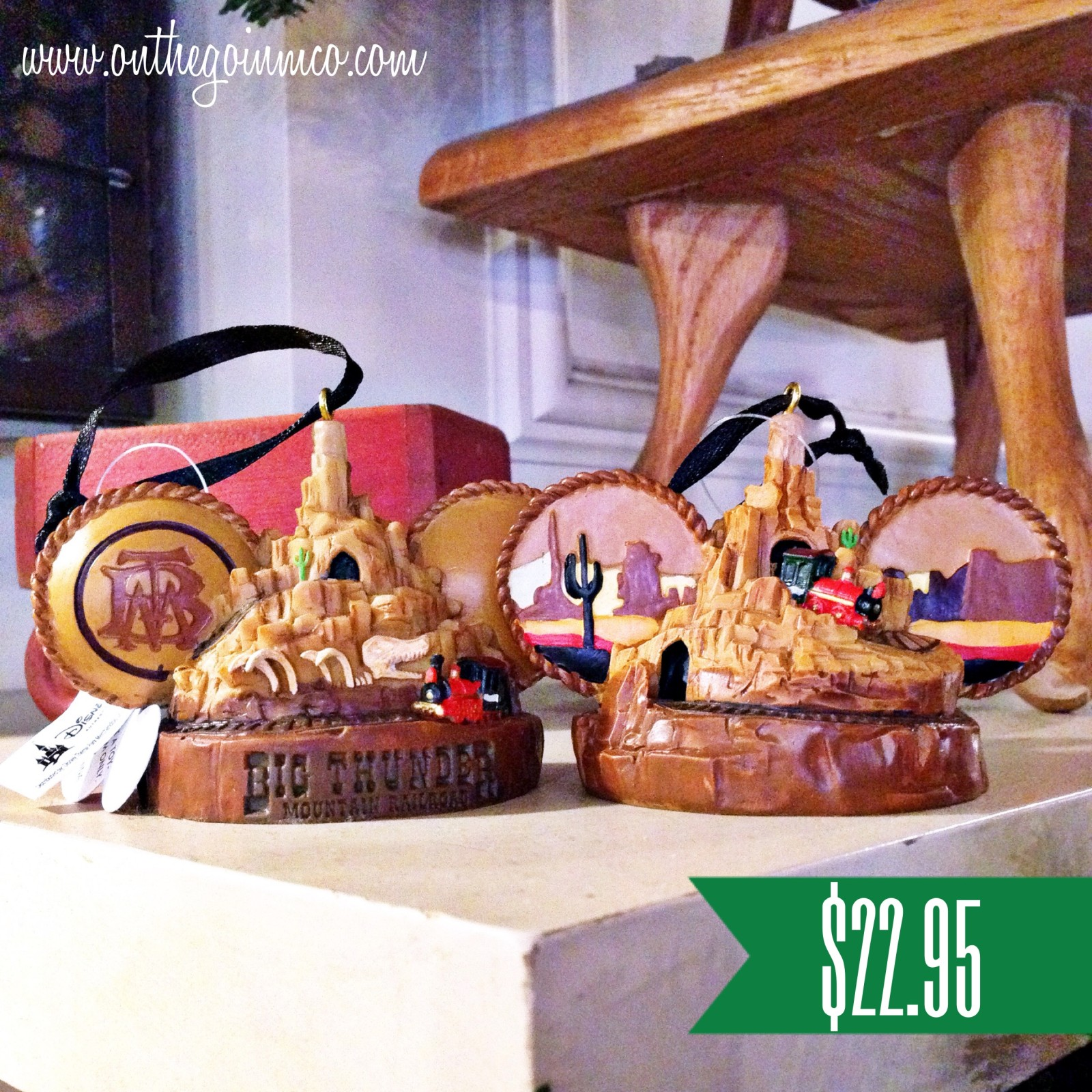Walt Disney World Christmas Ornaments