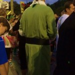 Saw quite a few Buddy the Elf costumes