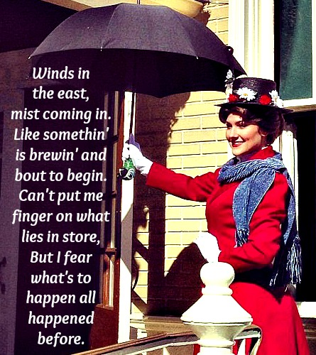 Wordless Wedenesday Mary Poppins
