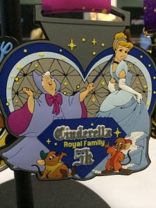 Cinderella Royal Family 5K medal