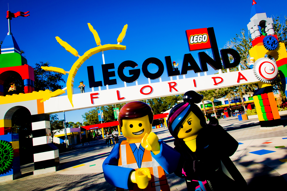 The LEGO Movie 4D A New Adventure LEGOLAND FLORIDA