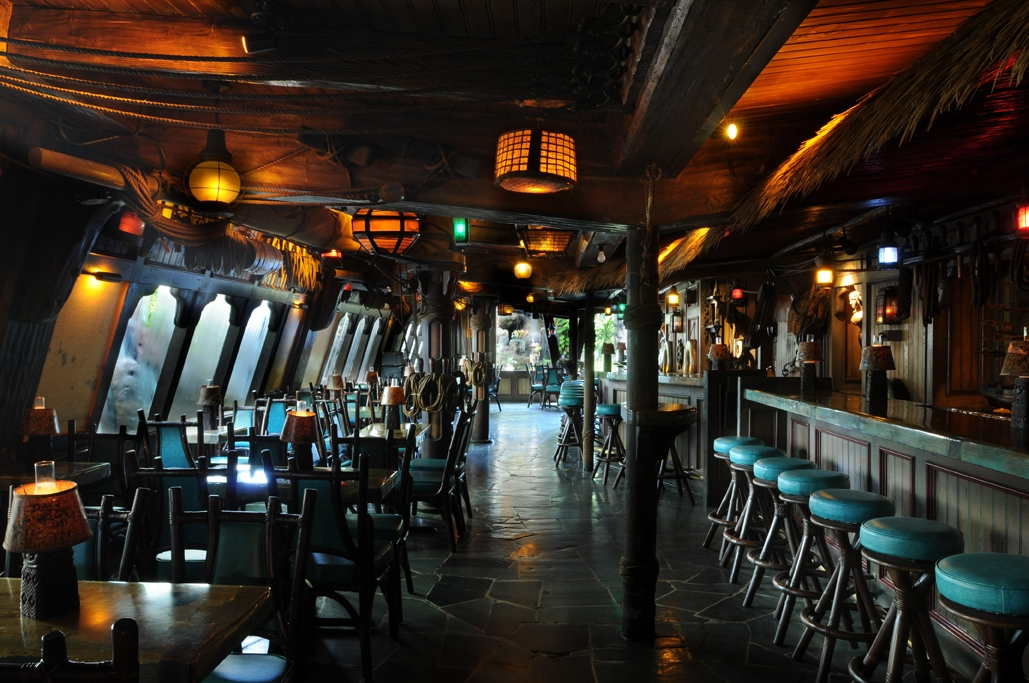 One of the bars inside The Mai-Kai (photo courtesy of the Sun-Sentinel).