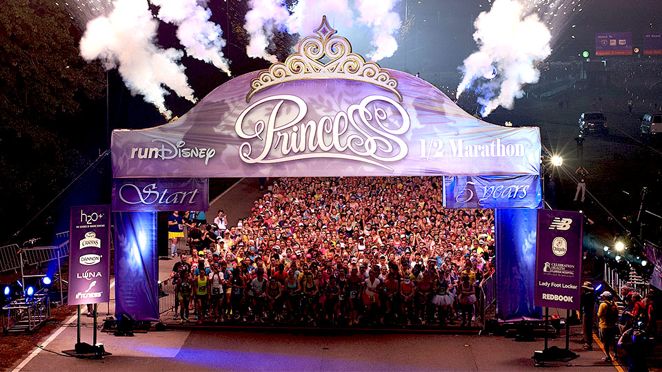 Photo: runDisney Princess Half Marathon runDisney