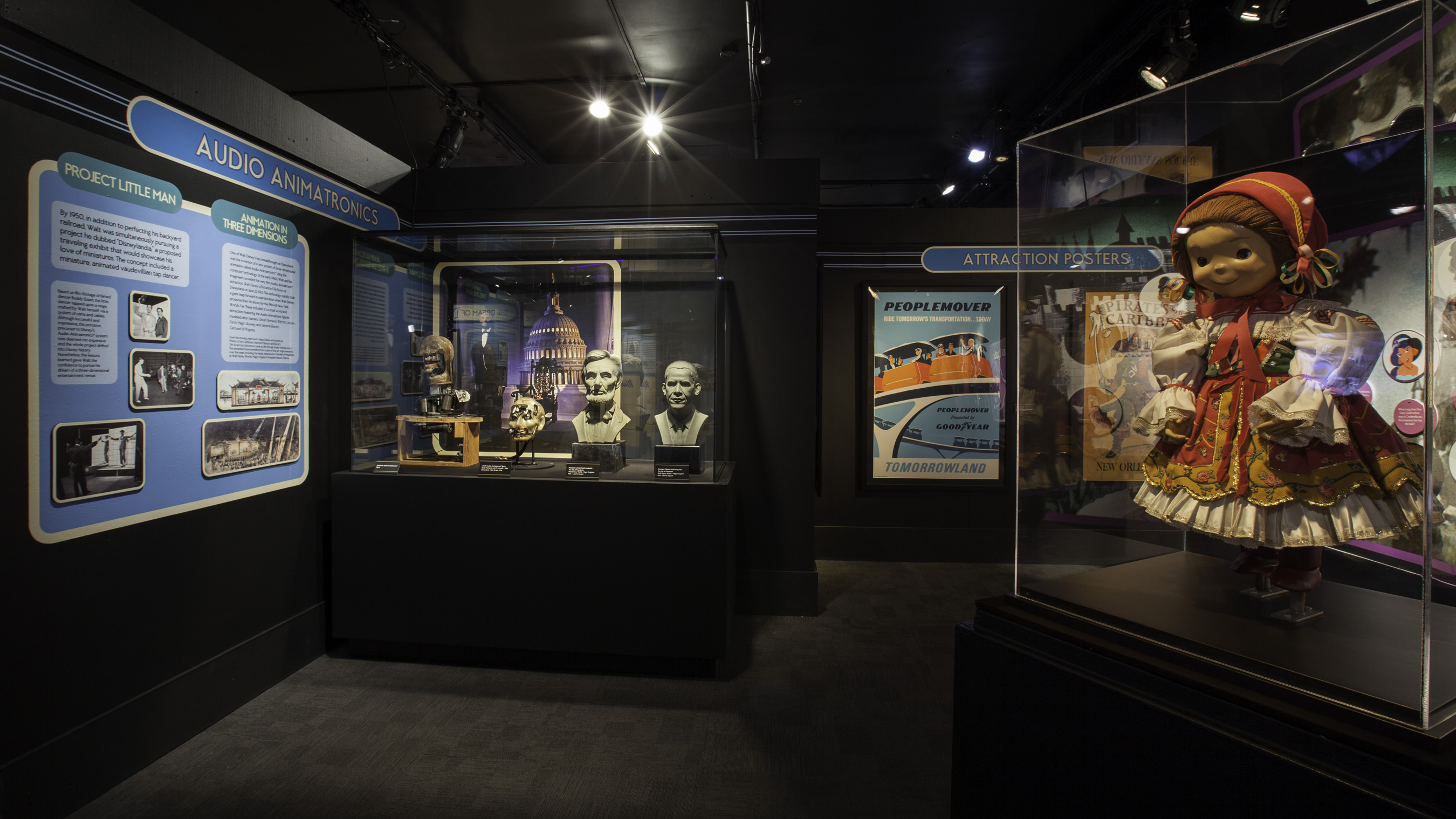 Treasures Of The Walt Disney Archives Exhibit Extended On The Go