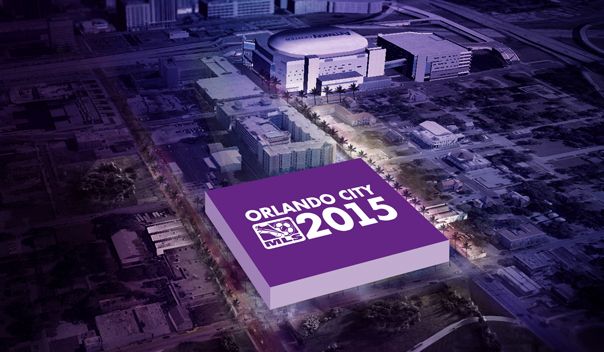 Orlando City SC Stadium Layout