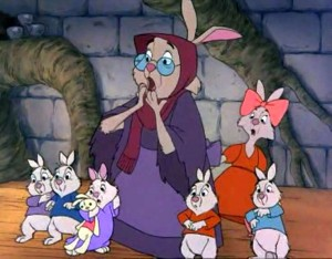 Skippy the Rabbit and family