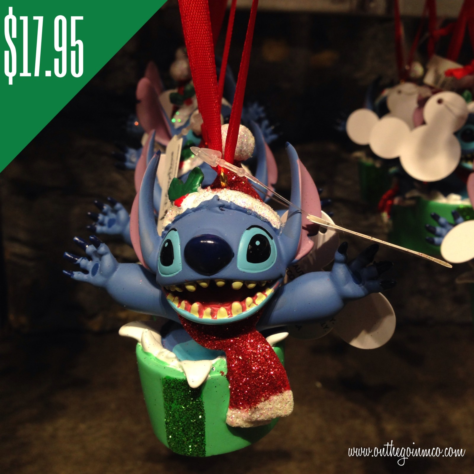 Disney Character Christmas Ornaments