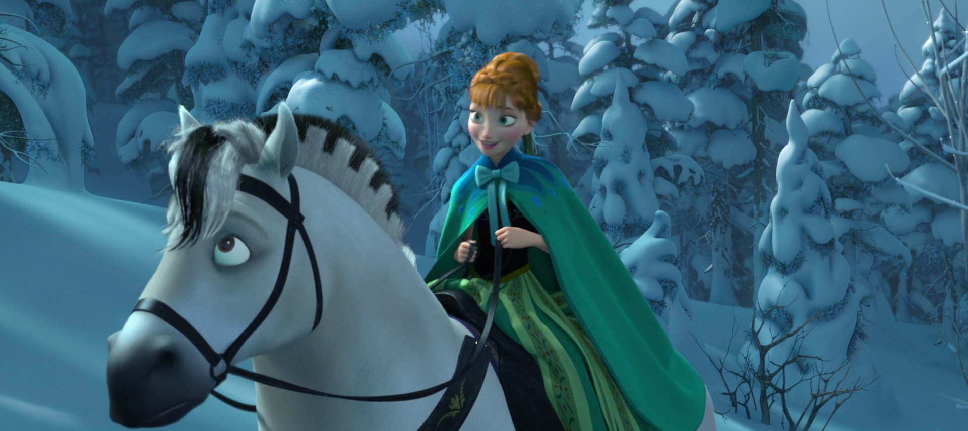 fjord horse (anna's, in the movie frozen) | fairytales, myths and