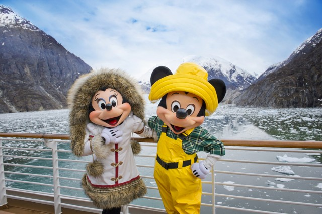 Disney Vacation Club Disney Cruise Line Alaska Mickey and Minnie