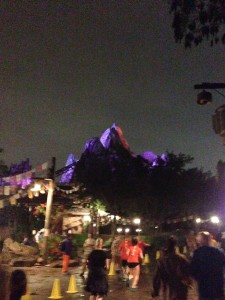 Running past Everest