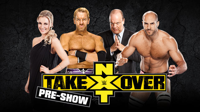 NXT Takeover Preshow