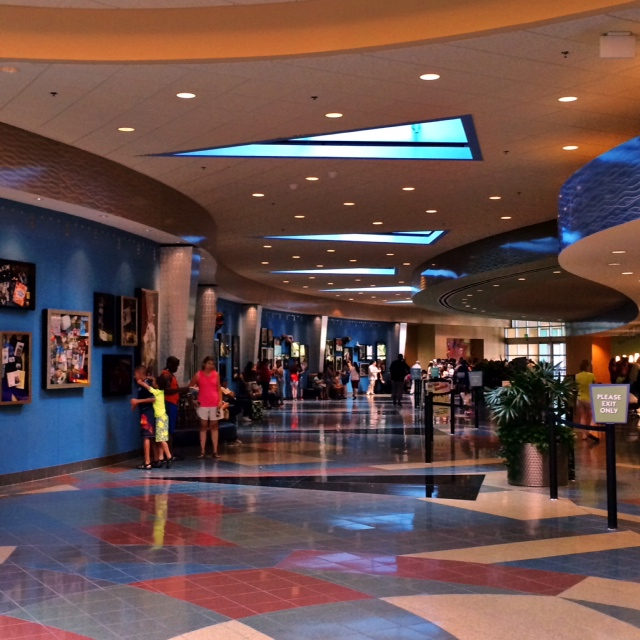Pop Century Resort Inside Lobby