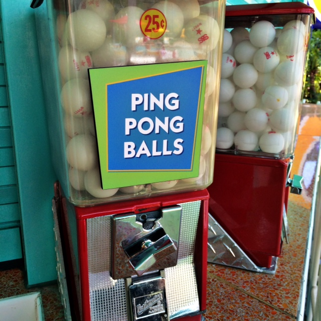 Pop Century Resort Ping Pong Balls