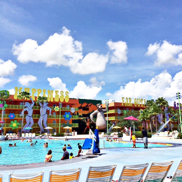 Pop Century Resort Pool