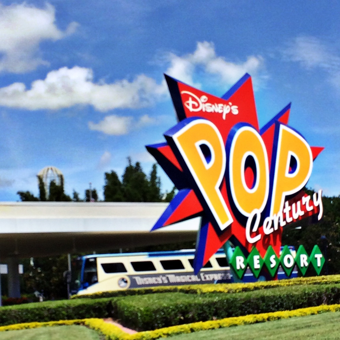 Pop Century Resort Sign