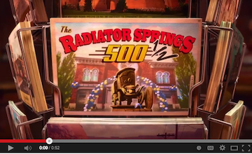 Radiator Springs 500 1/2 Disney Movies Anywhere App