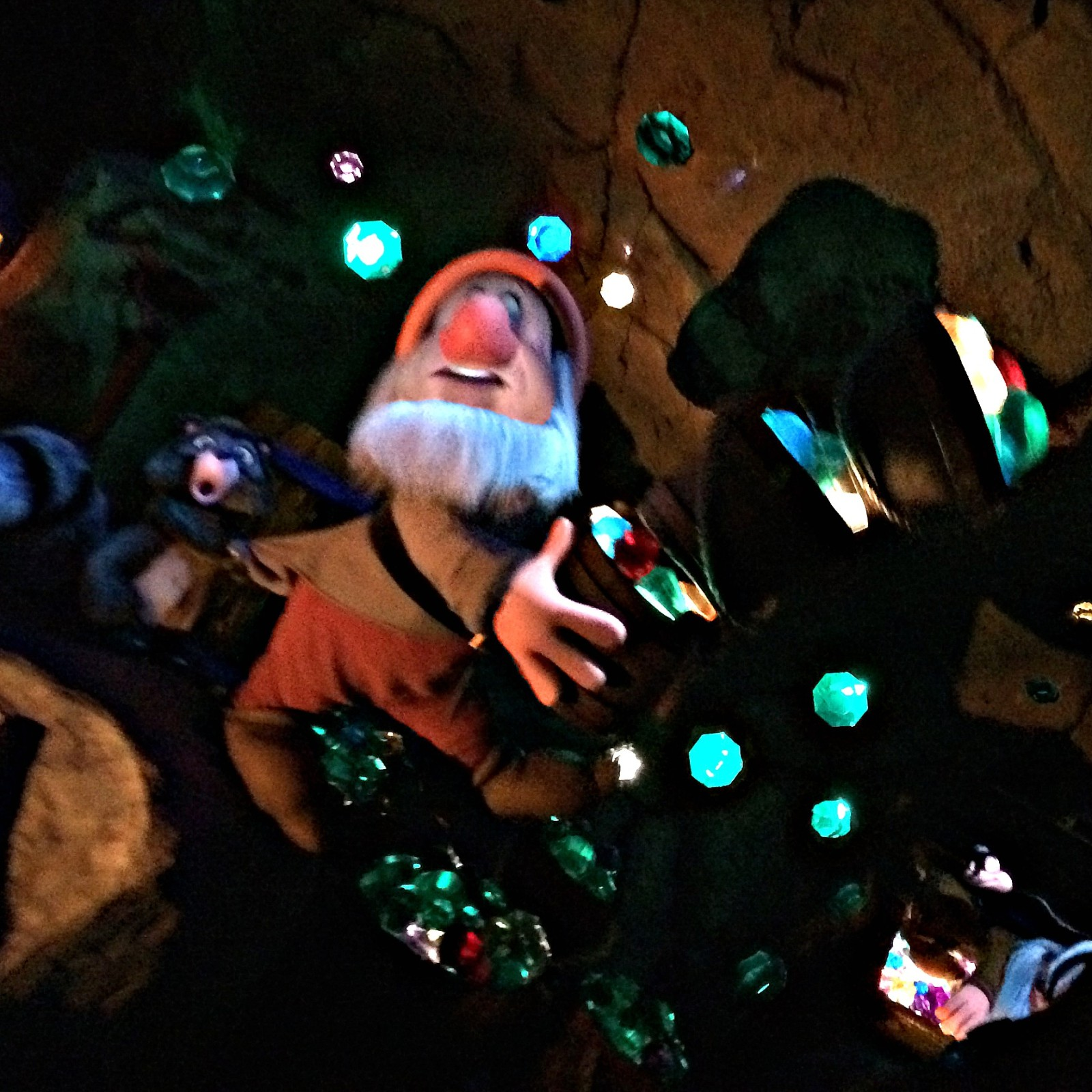 Seven Dwarfs Mine Train Animatronic