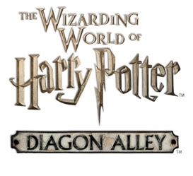 Wizarding World of Harry Potter Diagon Alley Harry Potter and the Escape from Gringotts Logo