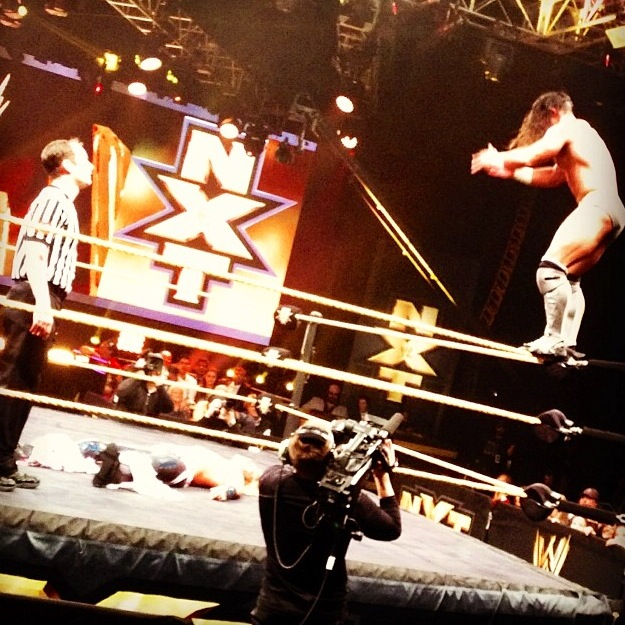 WWE NXT Takeover Adrian Neville Flying