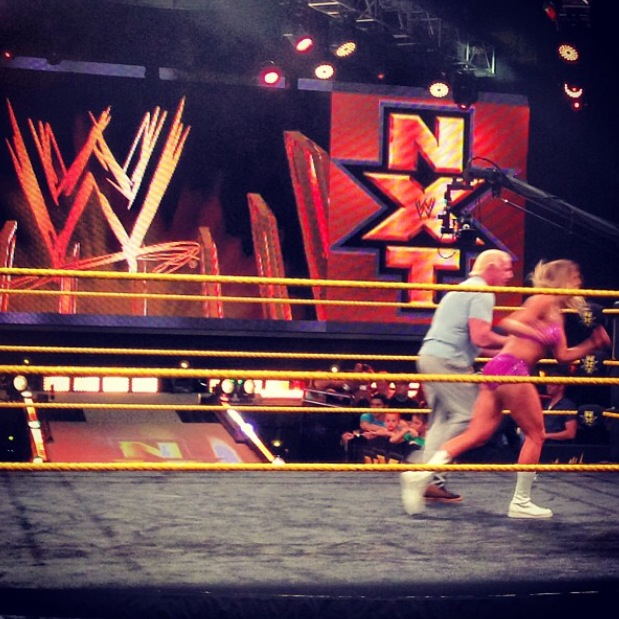 WWE NXT Takeover Charlotte and Flair