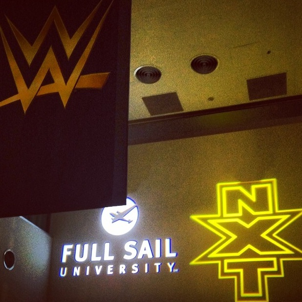 WWE NXT Takeover Full Sail Gobo