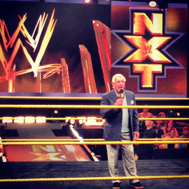 WWE NXT Takeover Ric Flair